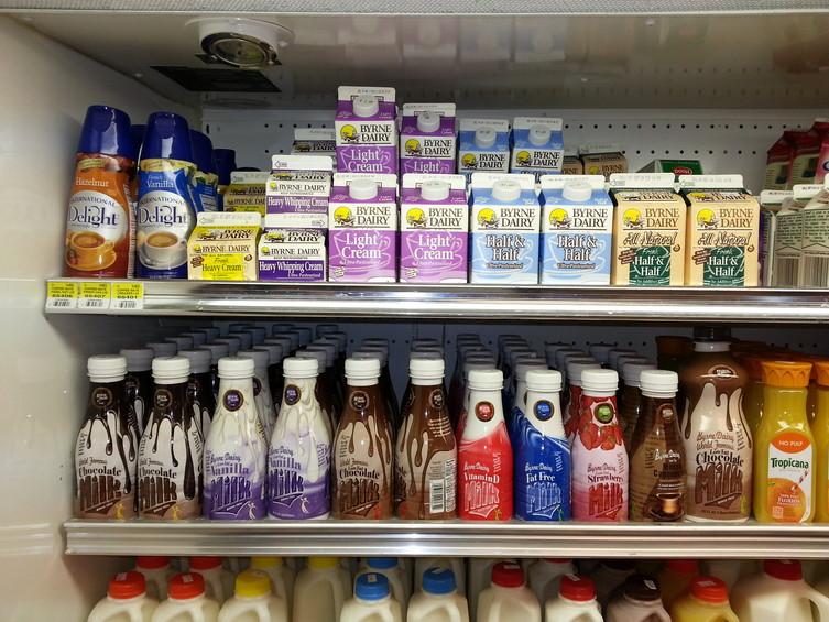 Milk Milkys Northeast Creamery Natick Ma Byrne Dairy Products